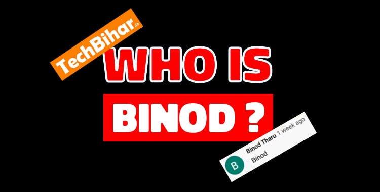 BINOD is trending on social media, what is BINOD actually?